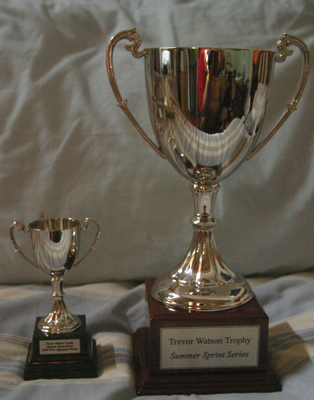 Trevor Watson Trophy with replica