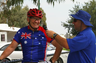John Hunt interviewed at the start