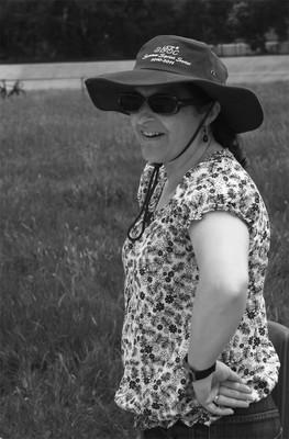 Matilda Vaughan in a hat!